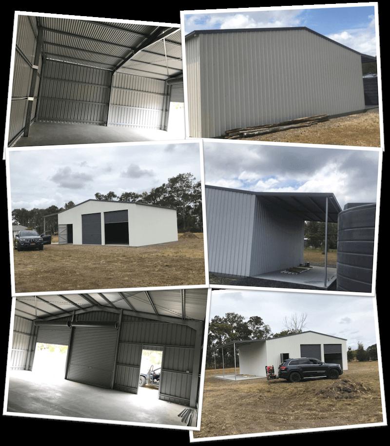 Custom shed design for Jim Walsh