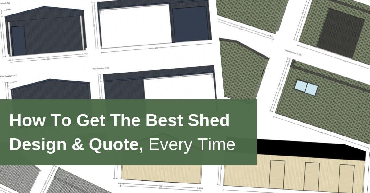 Shed design in Australia