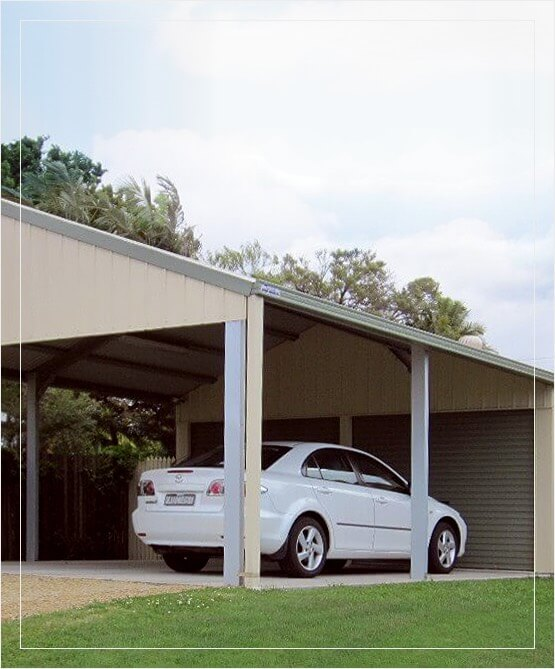 Single Carport Kit Garage