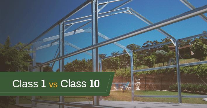 Class 1 vs Class 10 Sheds Explained
