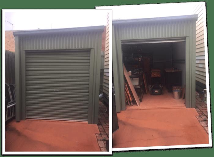 Workshop shed in Melbourne