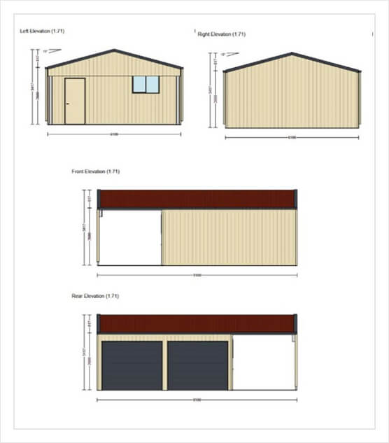 free garage shed design plans